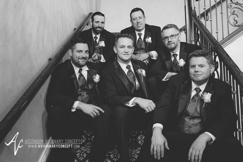 Buffalo Wedding Photography The Columns Banquets Millennium Hotel 024 - Groomsmen.jpg
