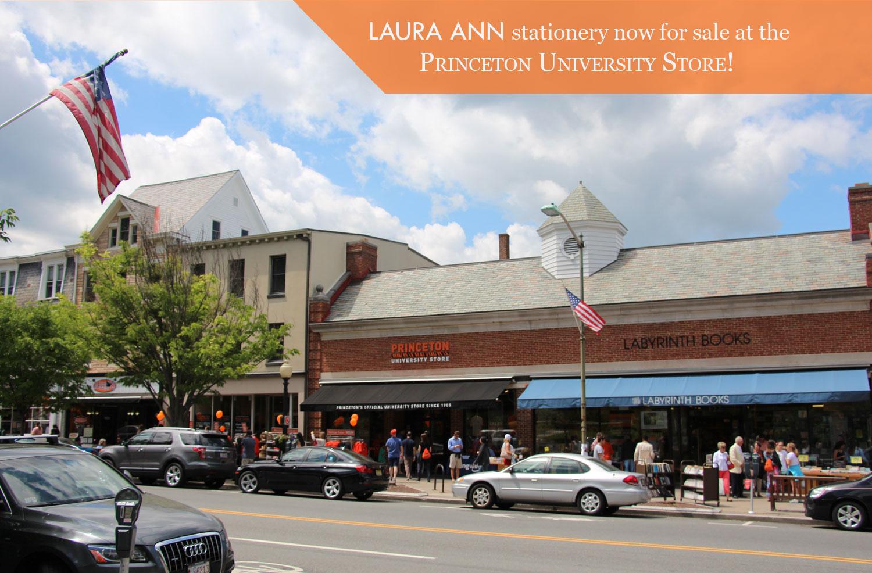 The Princeton University Store, located at 114-116 Nassau Street, Princeton, New Jersey.