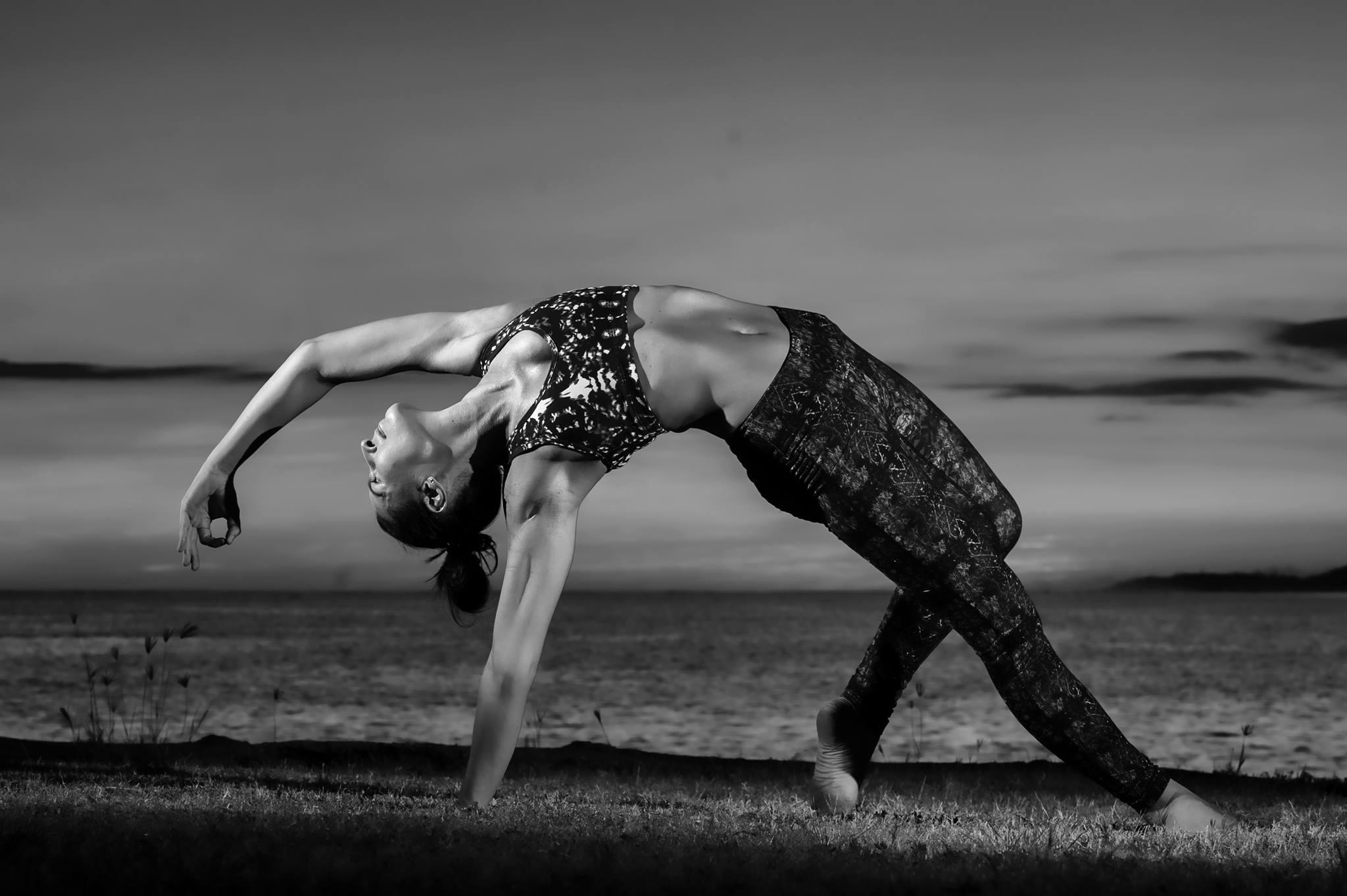 Photo by Dave Miyamoto. Sun Yoga Hawaii teacher, sunset collection. Jan 2016.