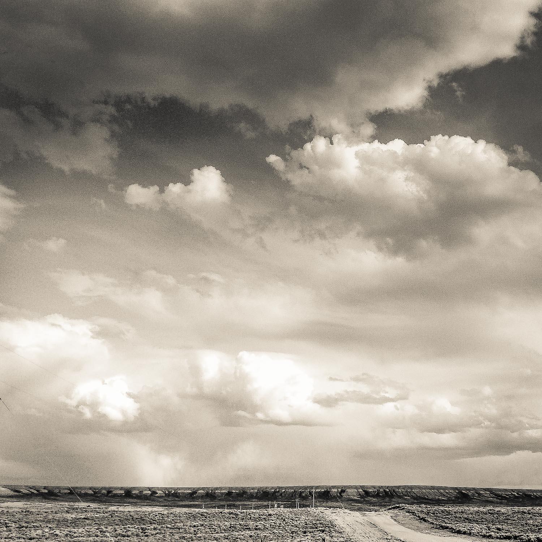 Dirt Road and Sky