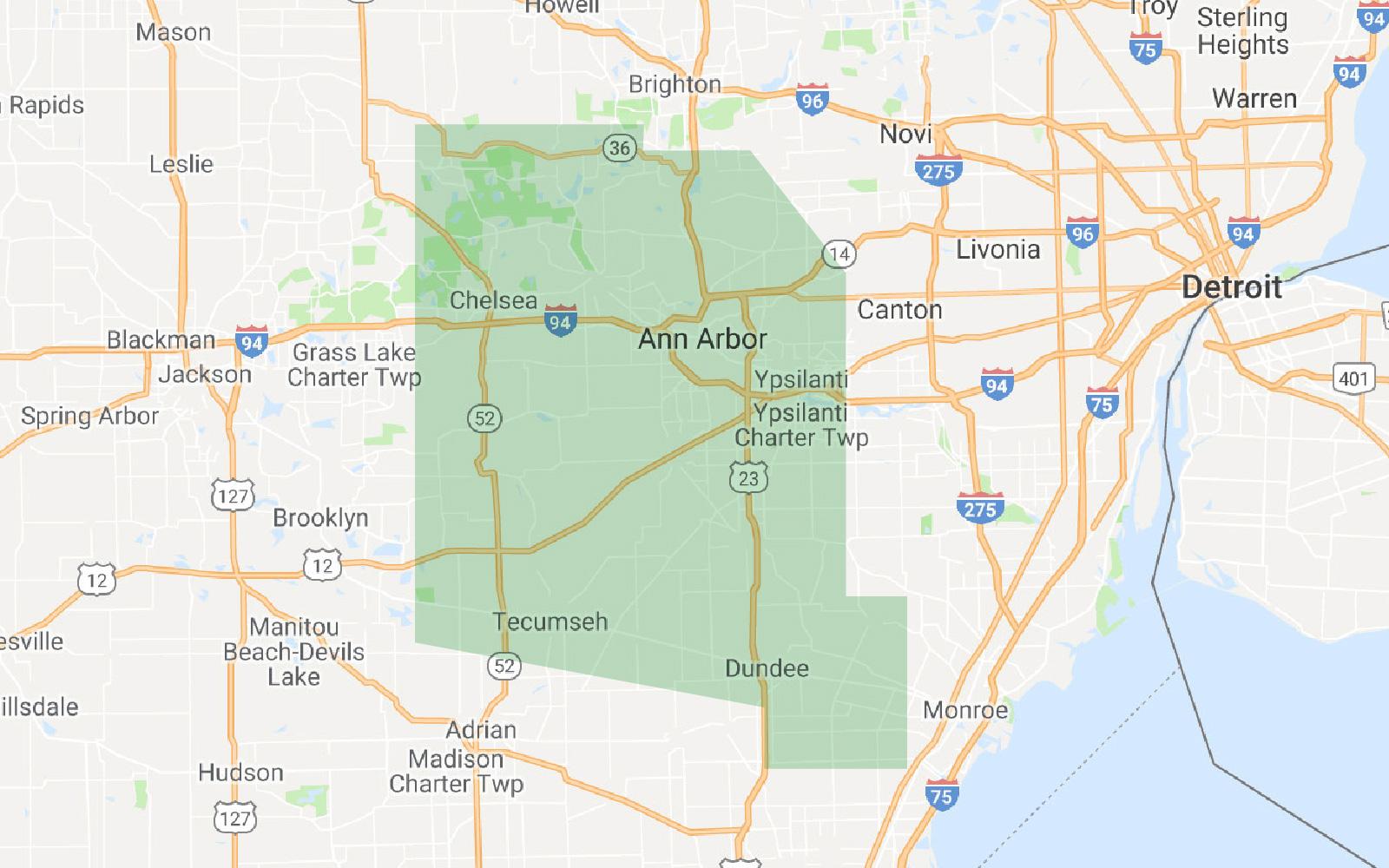 Ann Arbor Service Area