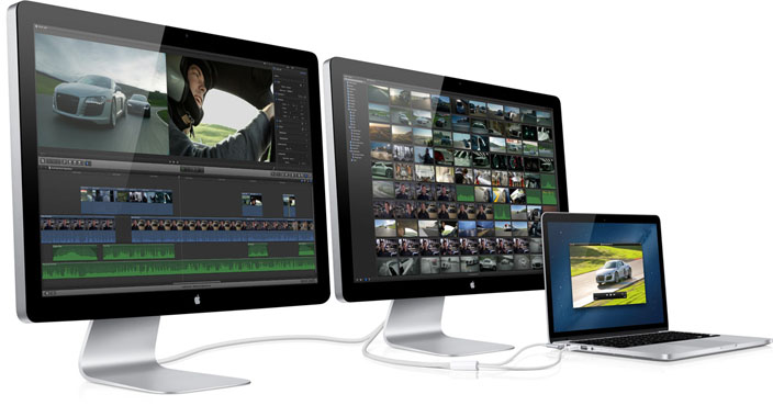Apple does not make their own 4K displays.