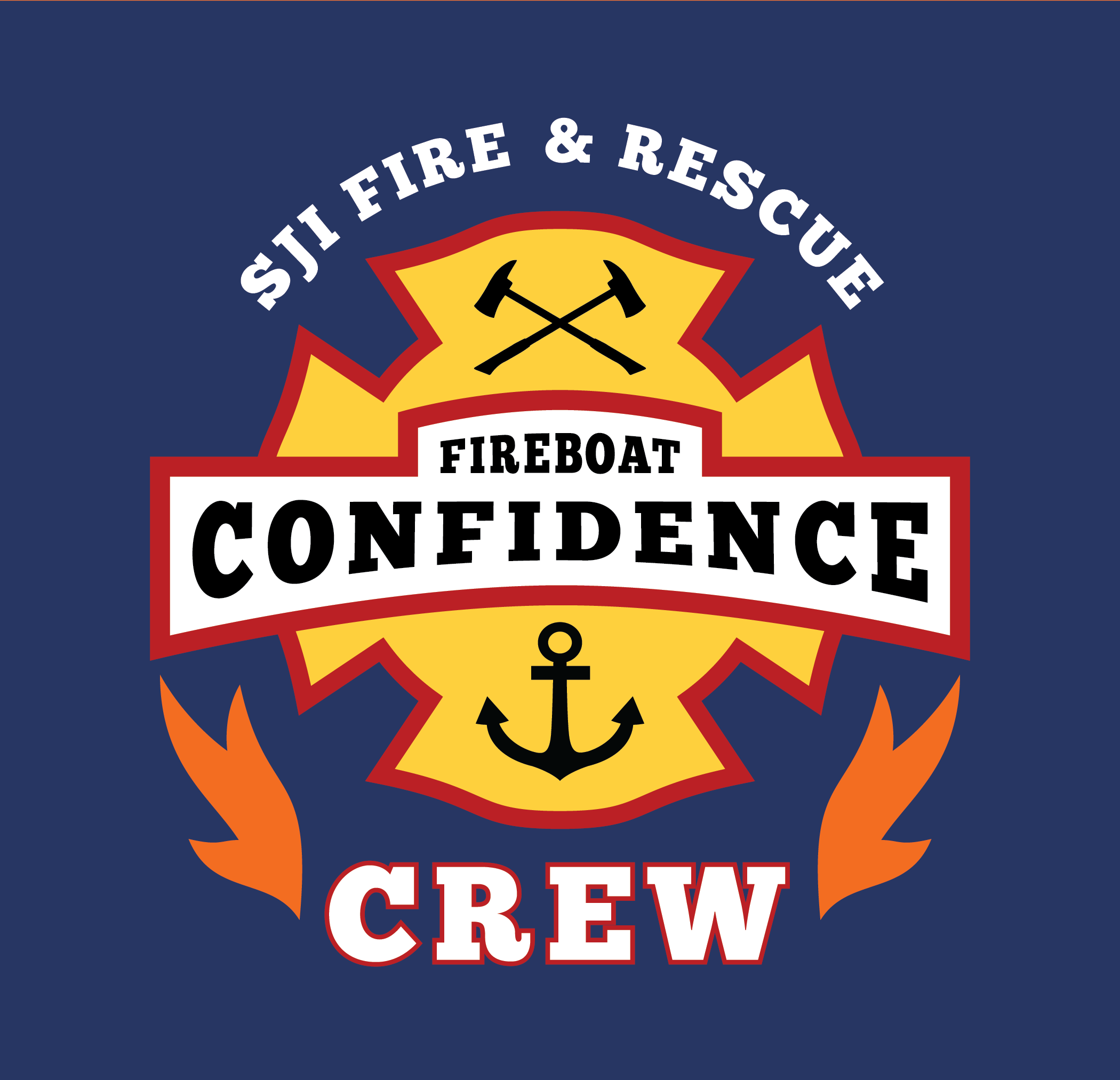 FIREBOAT CONFIDENCE (crew logo)