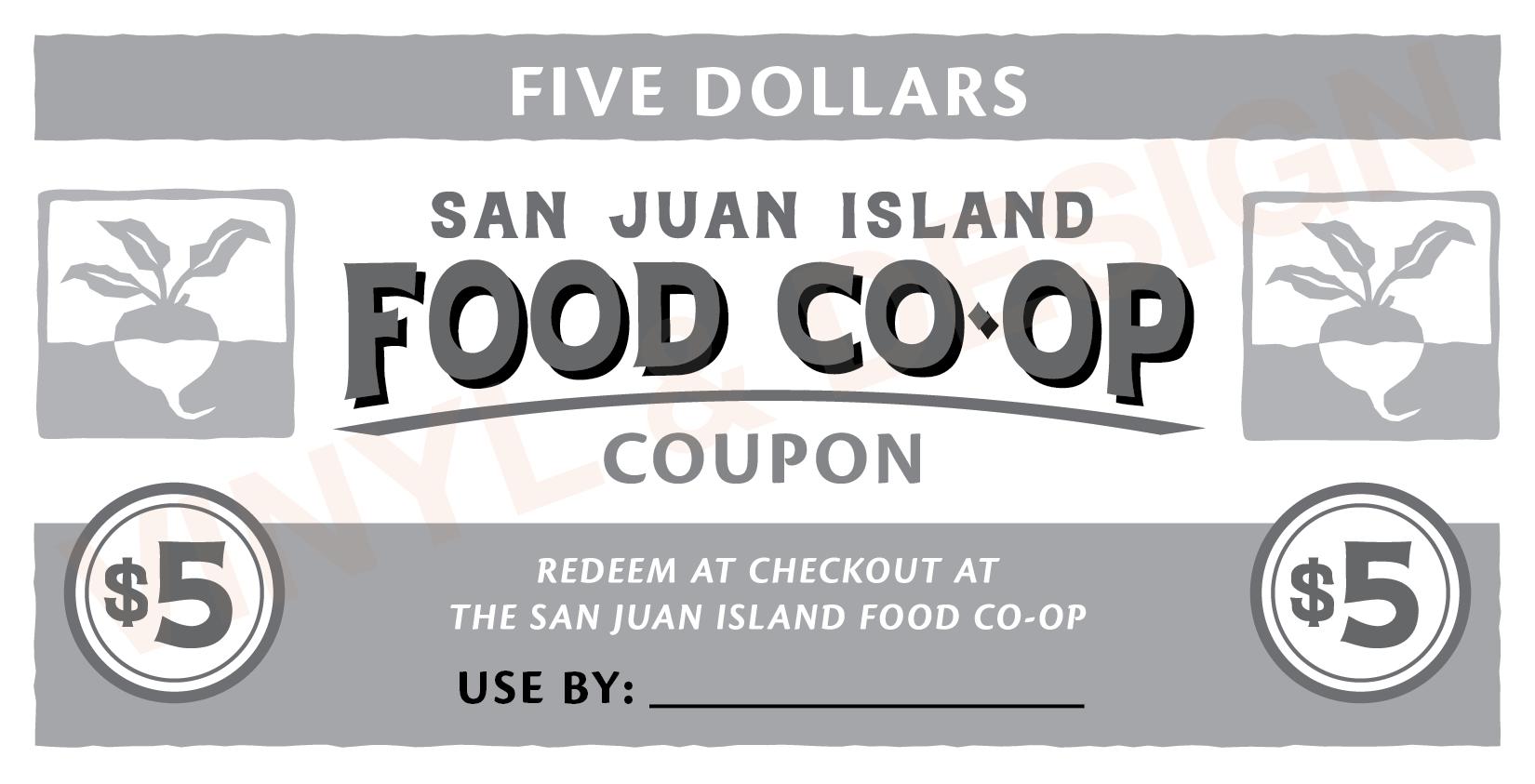SAN JUAN ISLAND FOOD CO-OP (coupon)