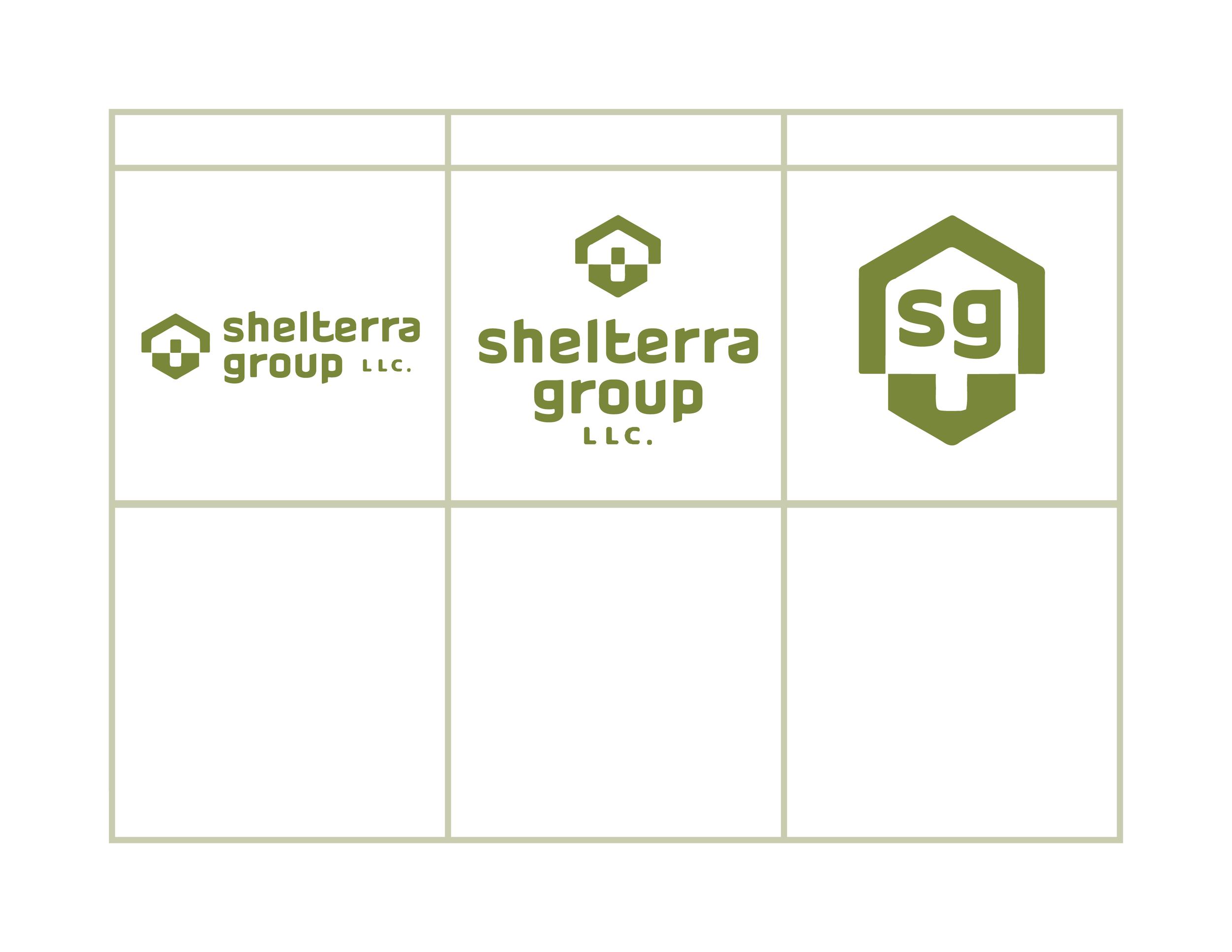 SHELTERRA GROUP (Unused lowercase logo concept)