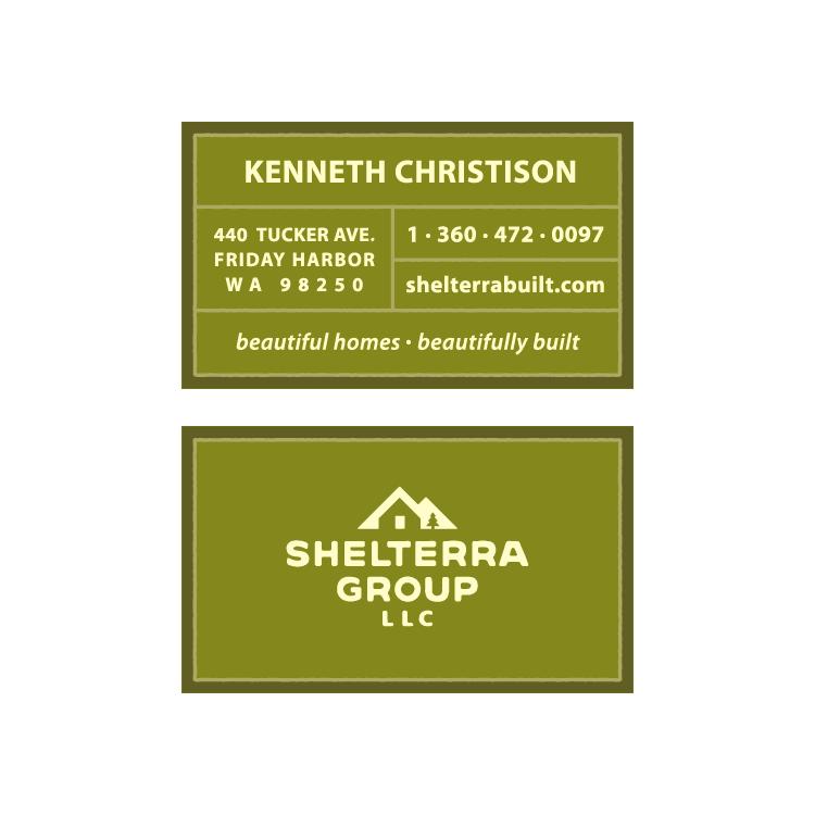 SHELTERRA GROUP LLC - business card