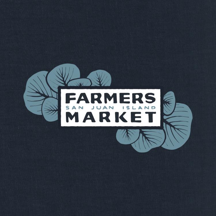 SAN JUAN ISLAND FARMERS MARKET (UNUSED SWAG GRAPHIC CONCEPT)