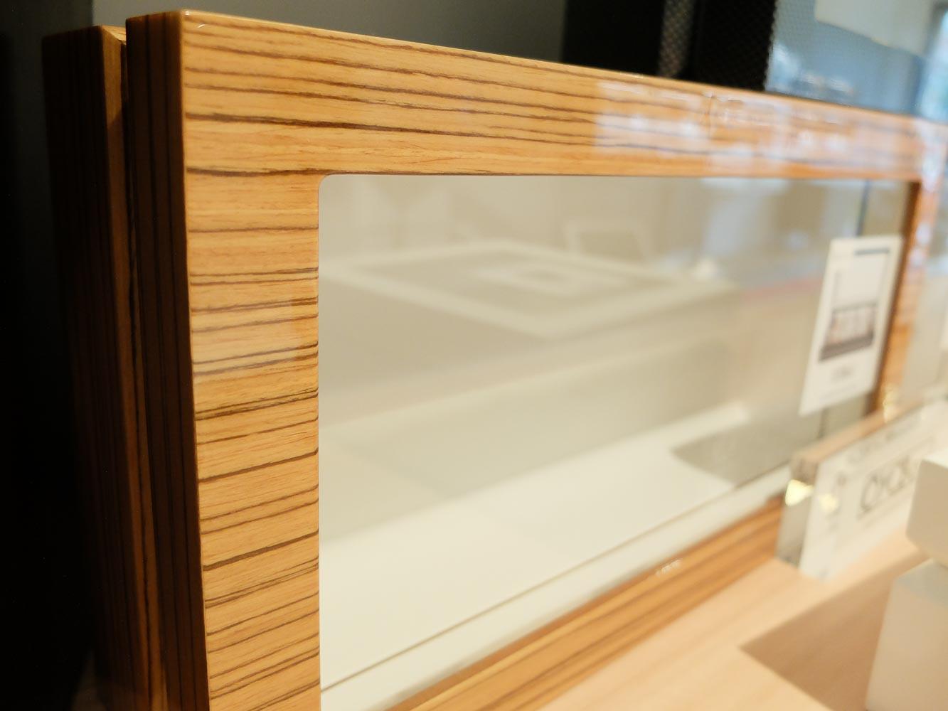 Ono Box / Zebra Natural Wood Large