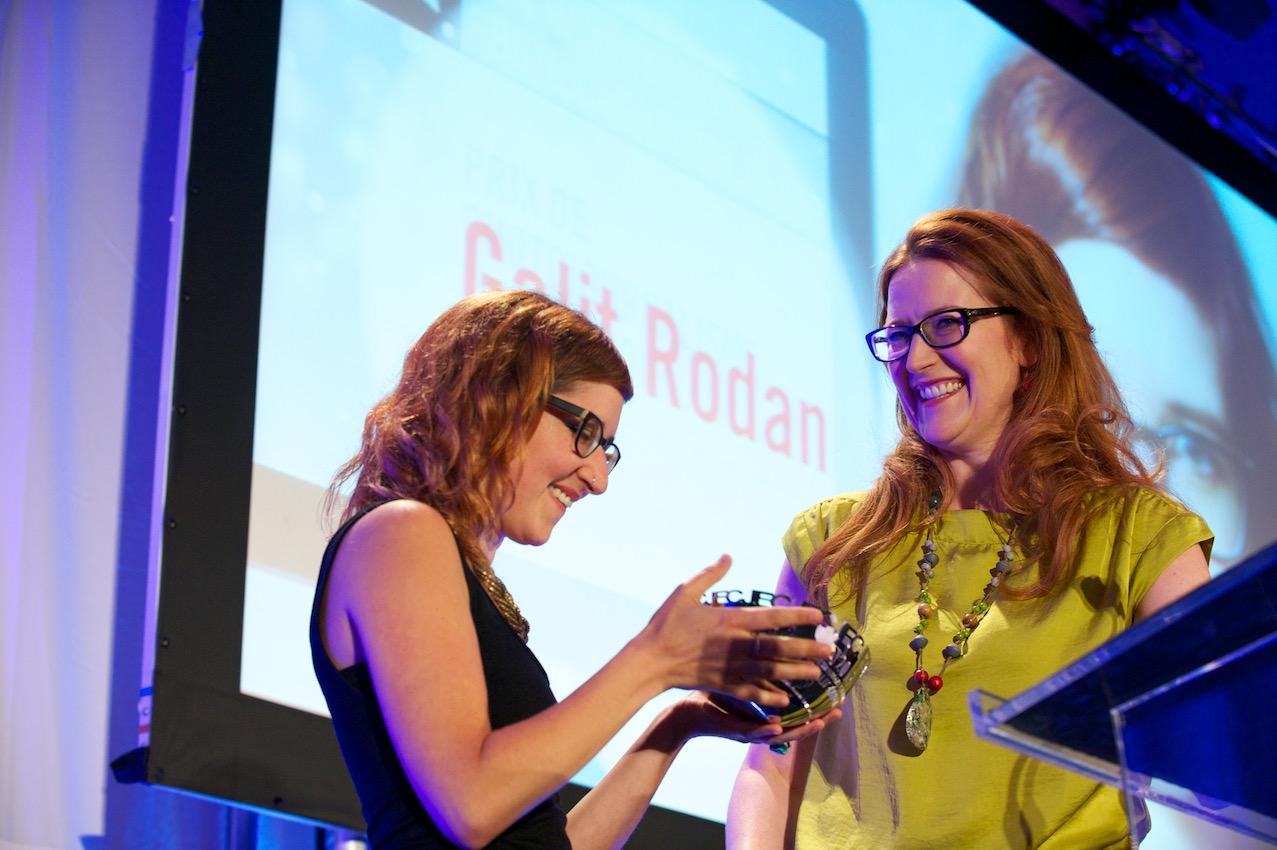 Canadian Journalism Foundation - AWARD DESIGN