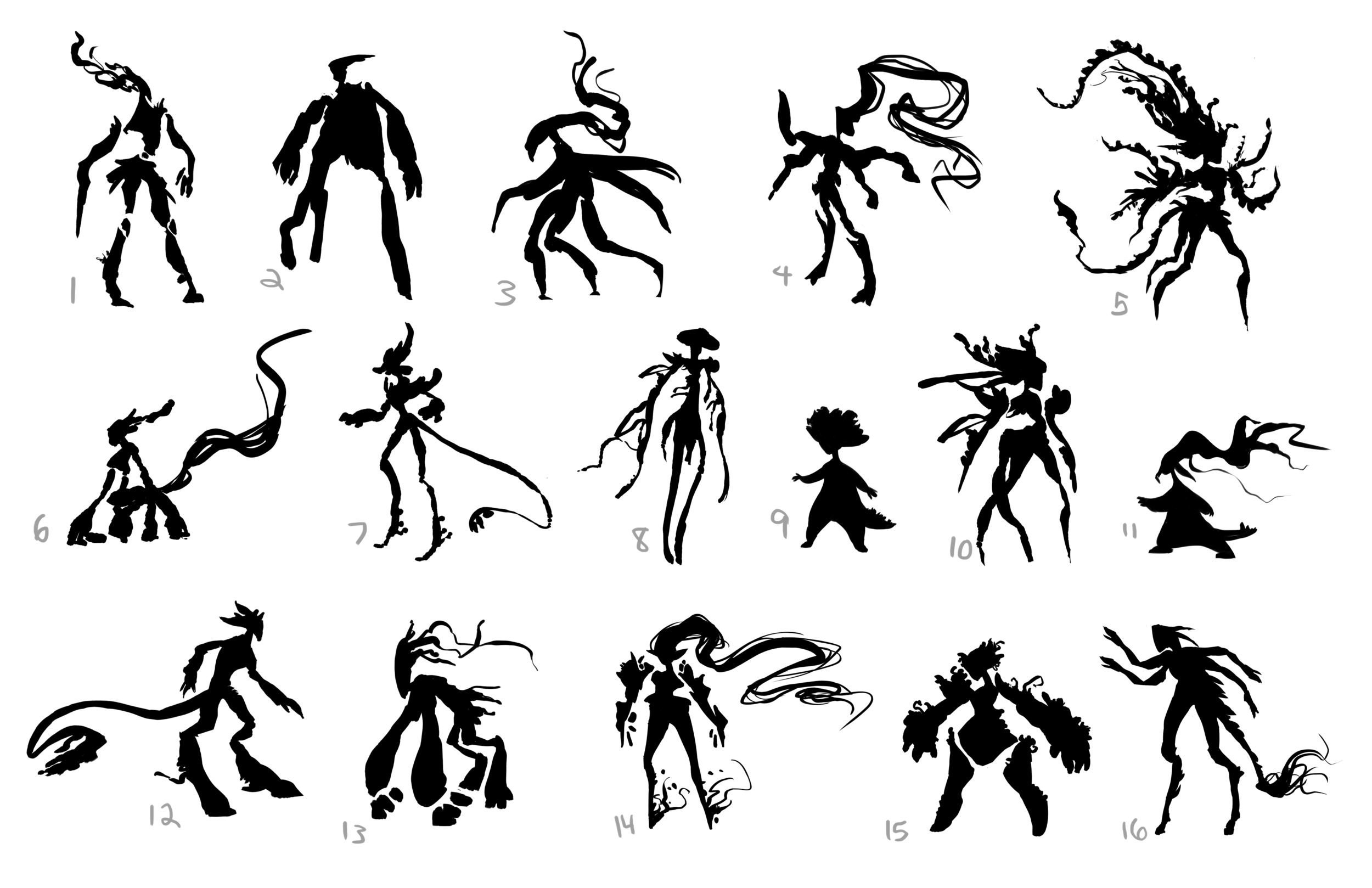 Somnum Minor Character Final Silhouettes.png