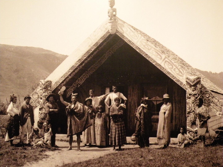 TAKE (Hinemihi Marae, Archival Photograph)