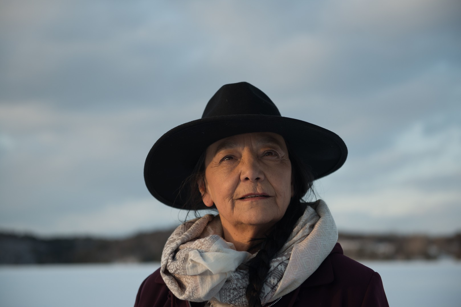 Tantoo Cardinal in Falls Around Her