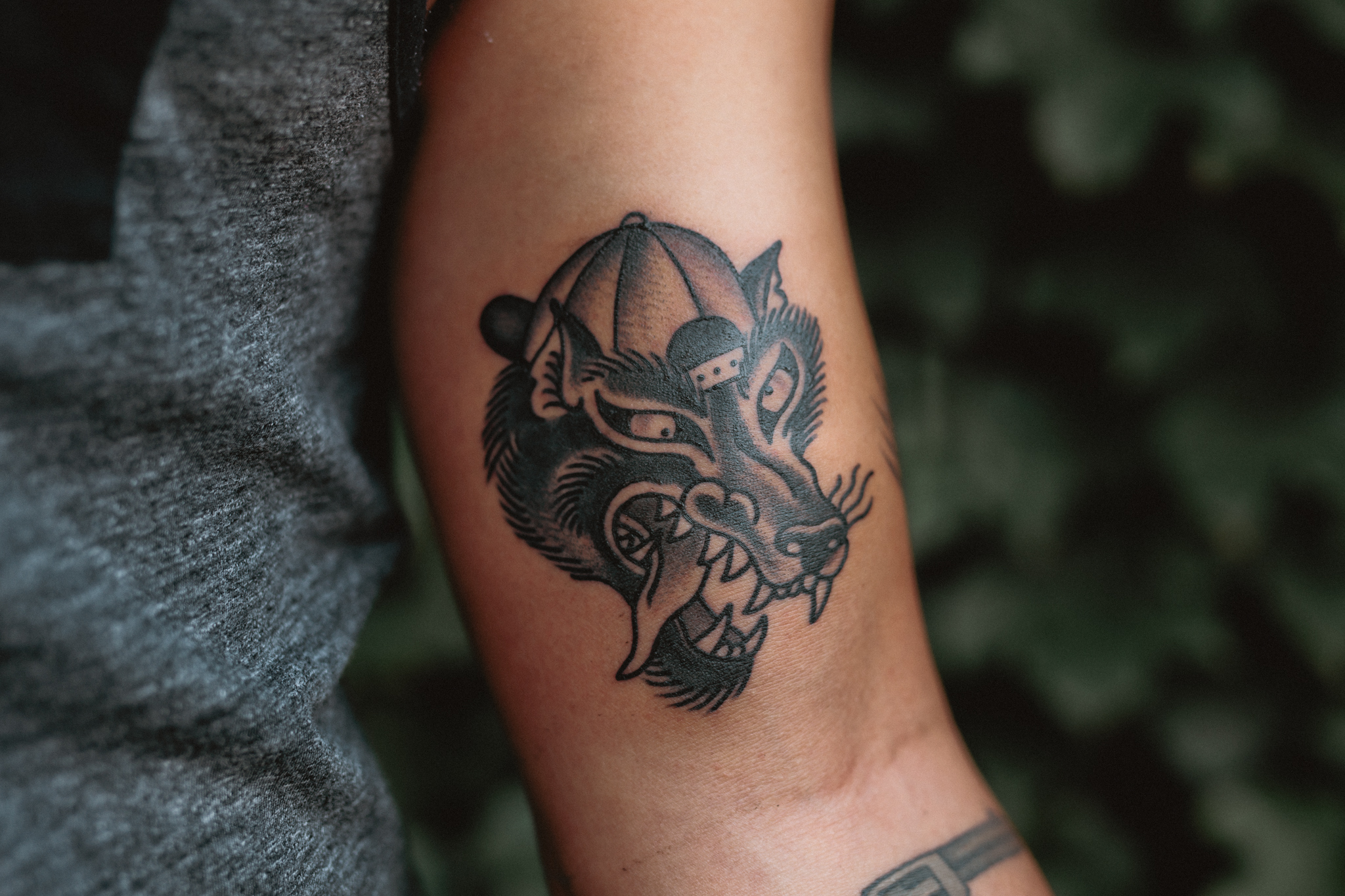 Party-Wolf-Tattoo