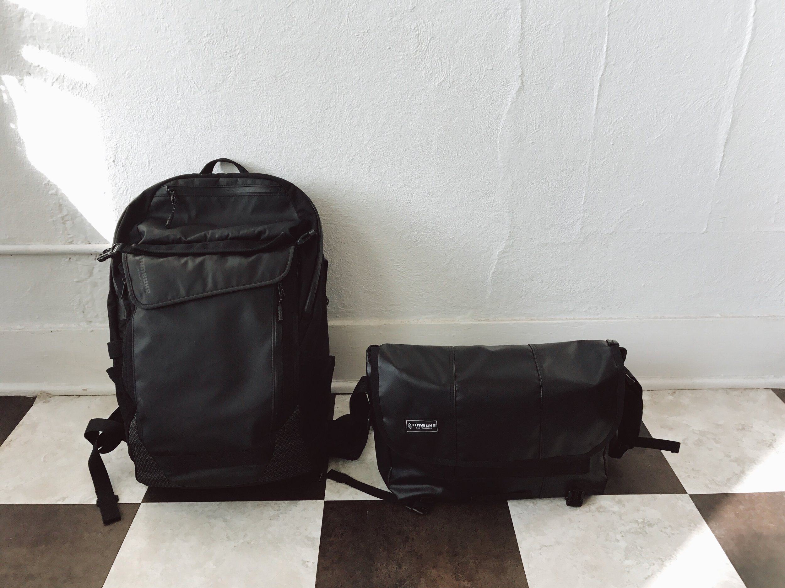 Timbuk2 Backpack + Messenger
