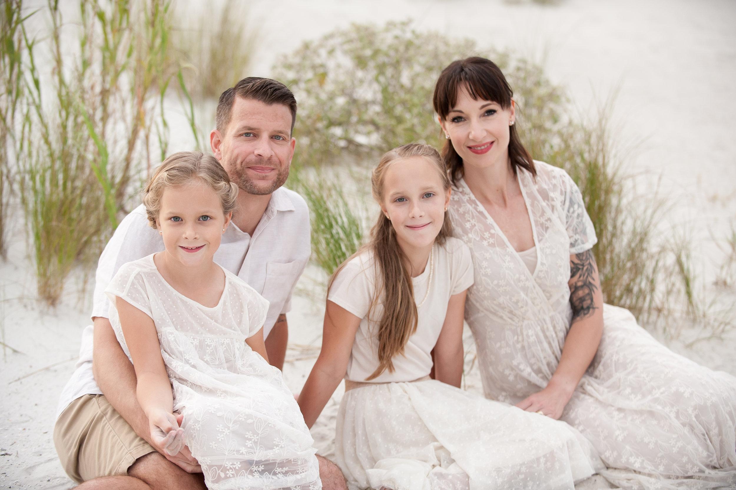 Trevor MacLaren and her family.