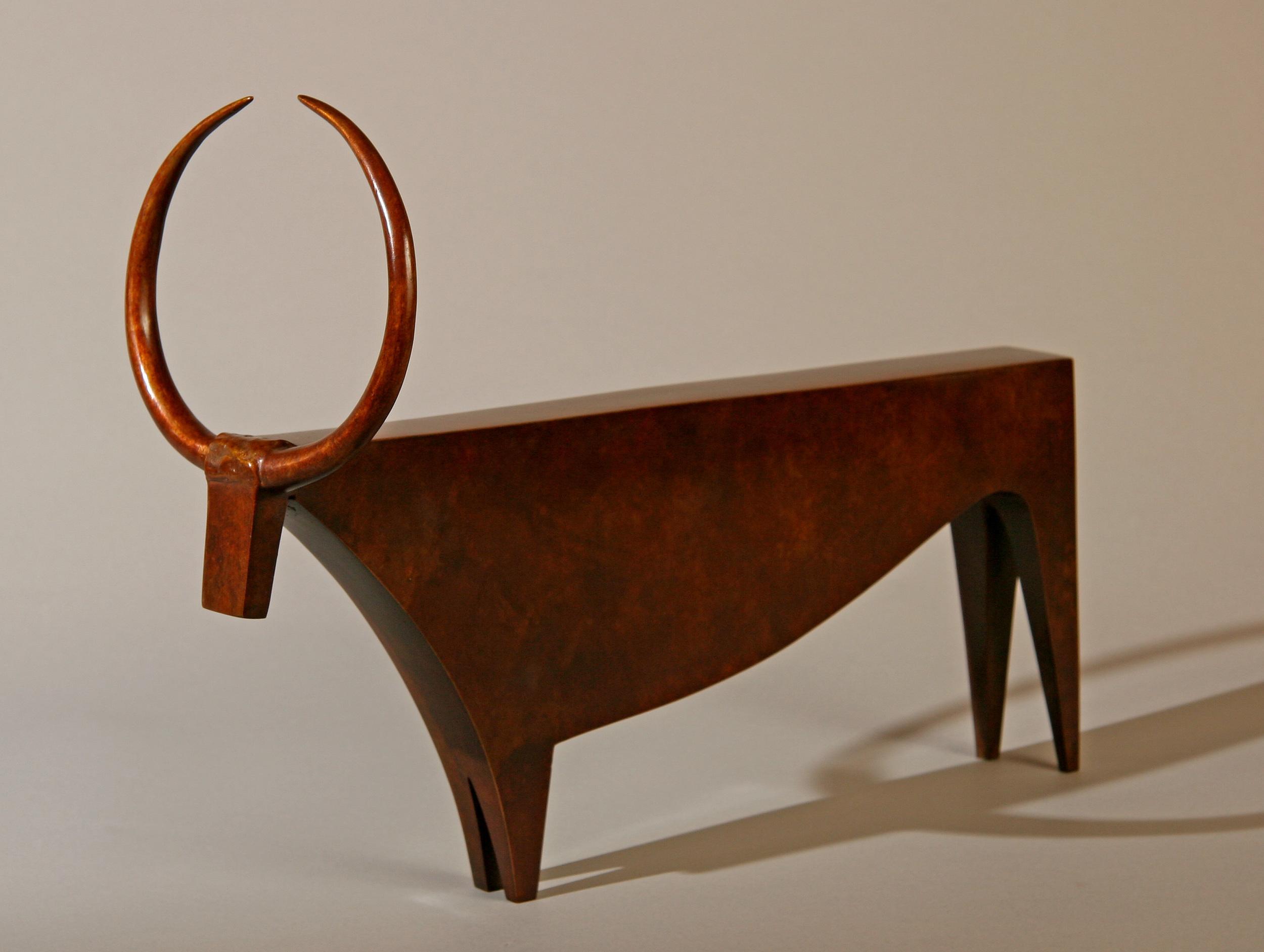 Bronze. Longueur 40 cm.  Photo Alain Payan.©2014. Livio Benedetti