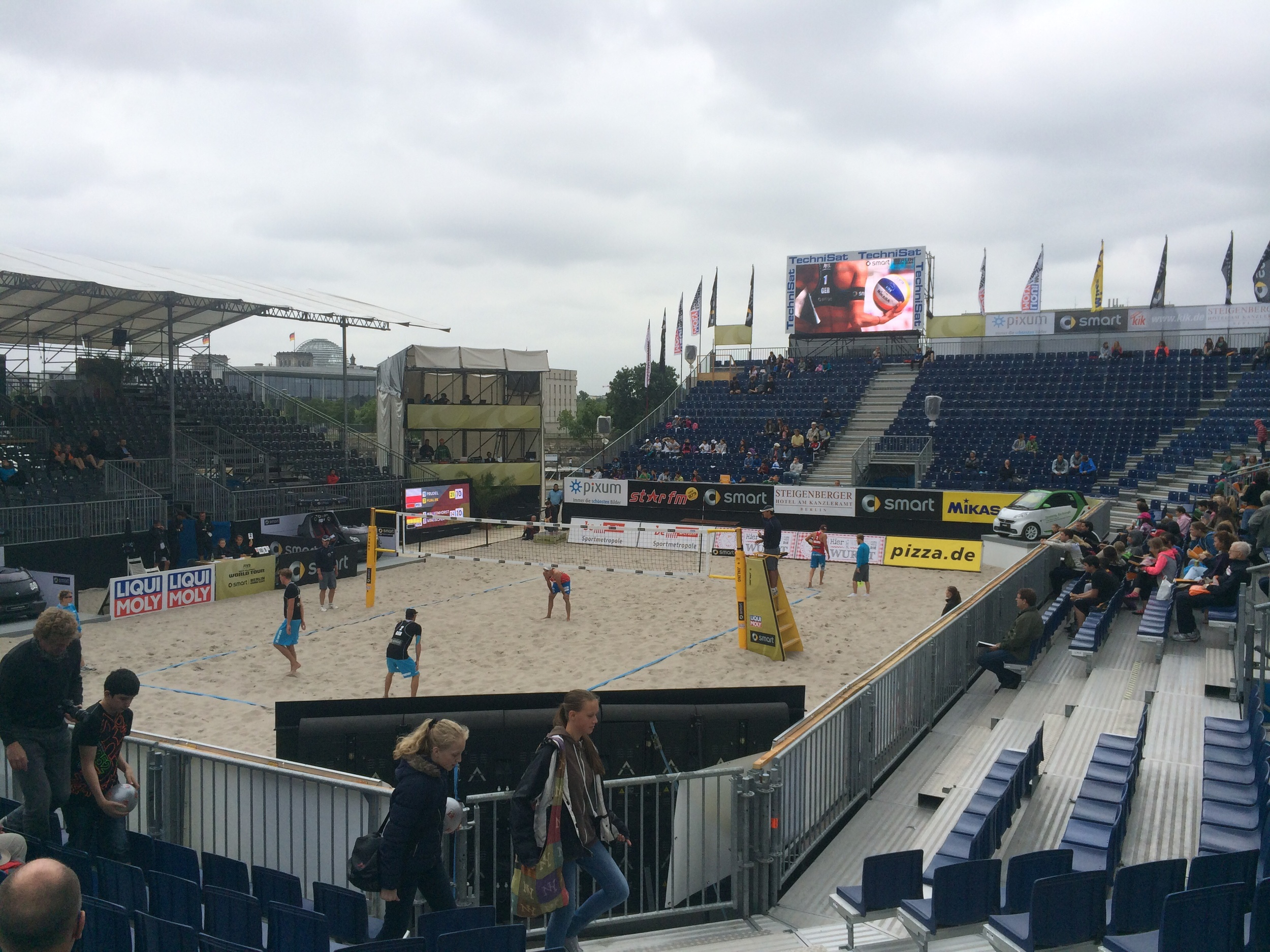 Stadium court )which we played today)