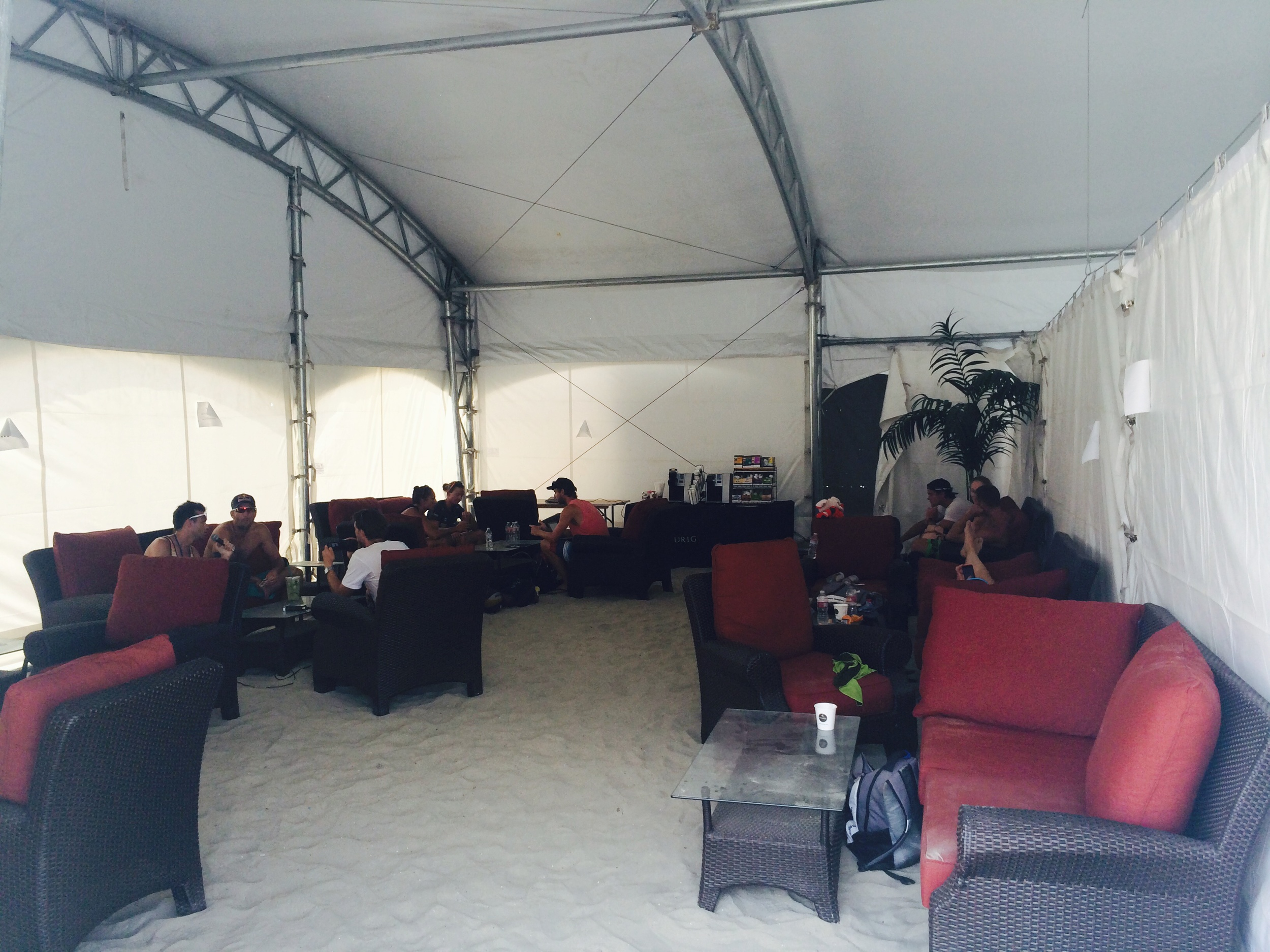 Players - coaches lounge