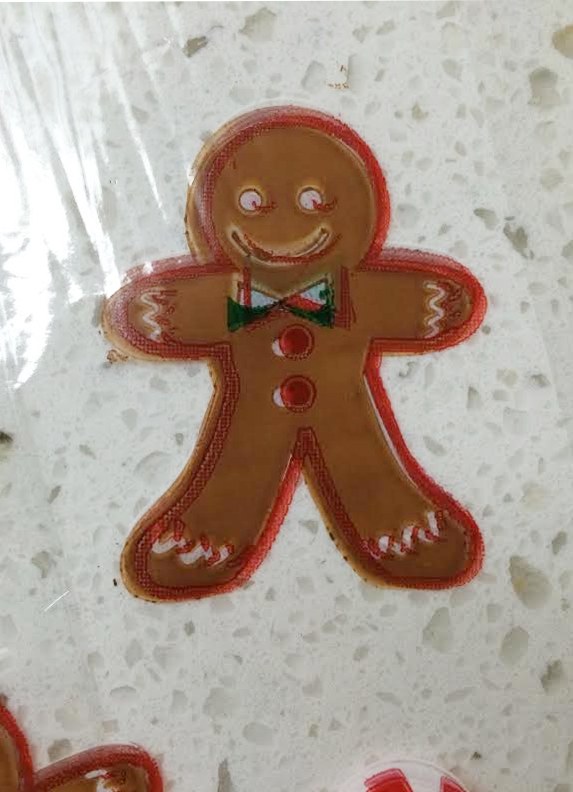 gingerbread cookie packaging