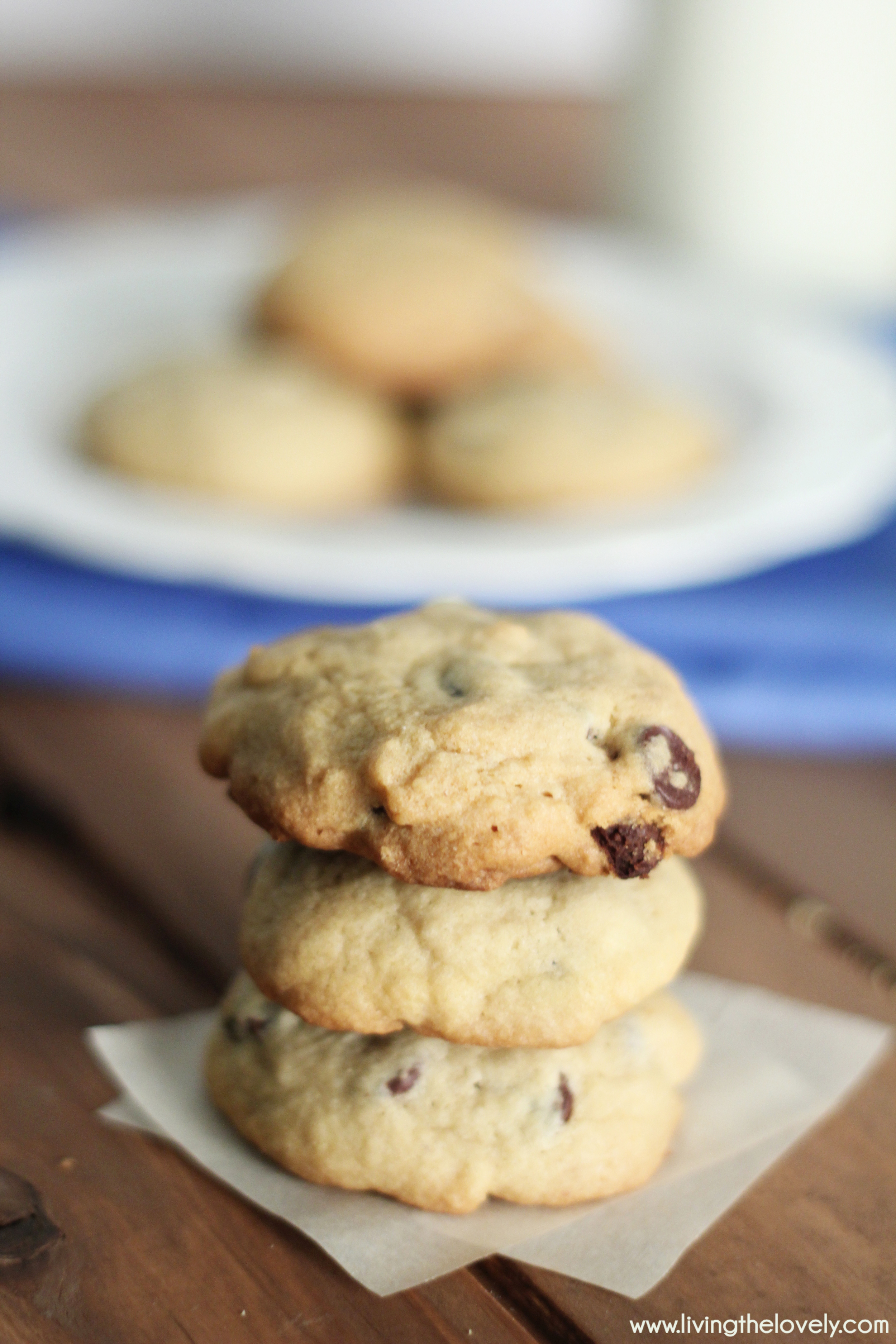 The Easy Recipe for the first Chocolate Chip cookie recipe ever! This is the original recipe accidentally created in the 1930's.....and its delicious!  | www.livingthelovely.com