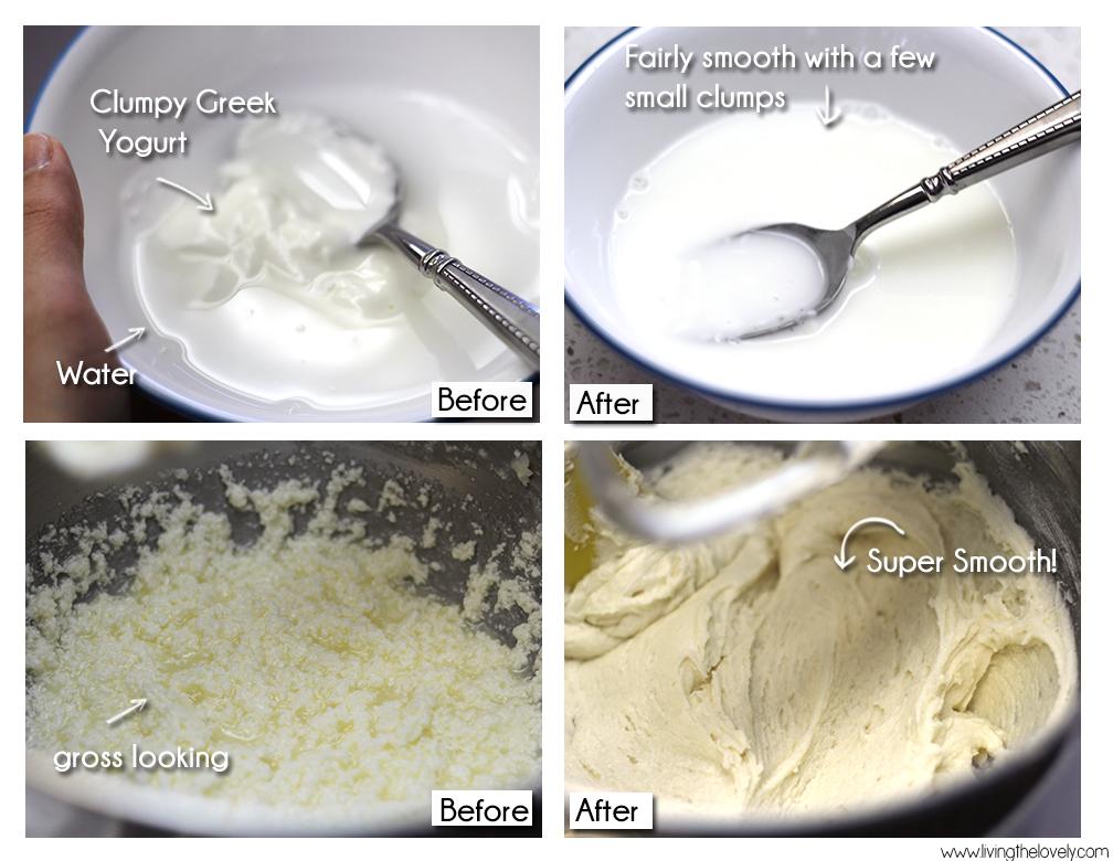 greek yogurt add to batter