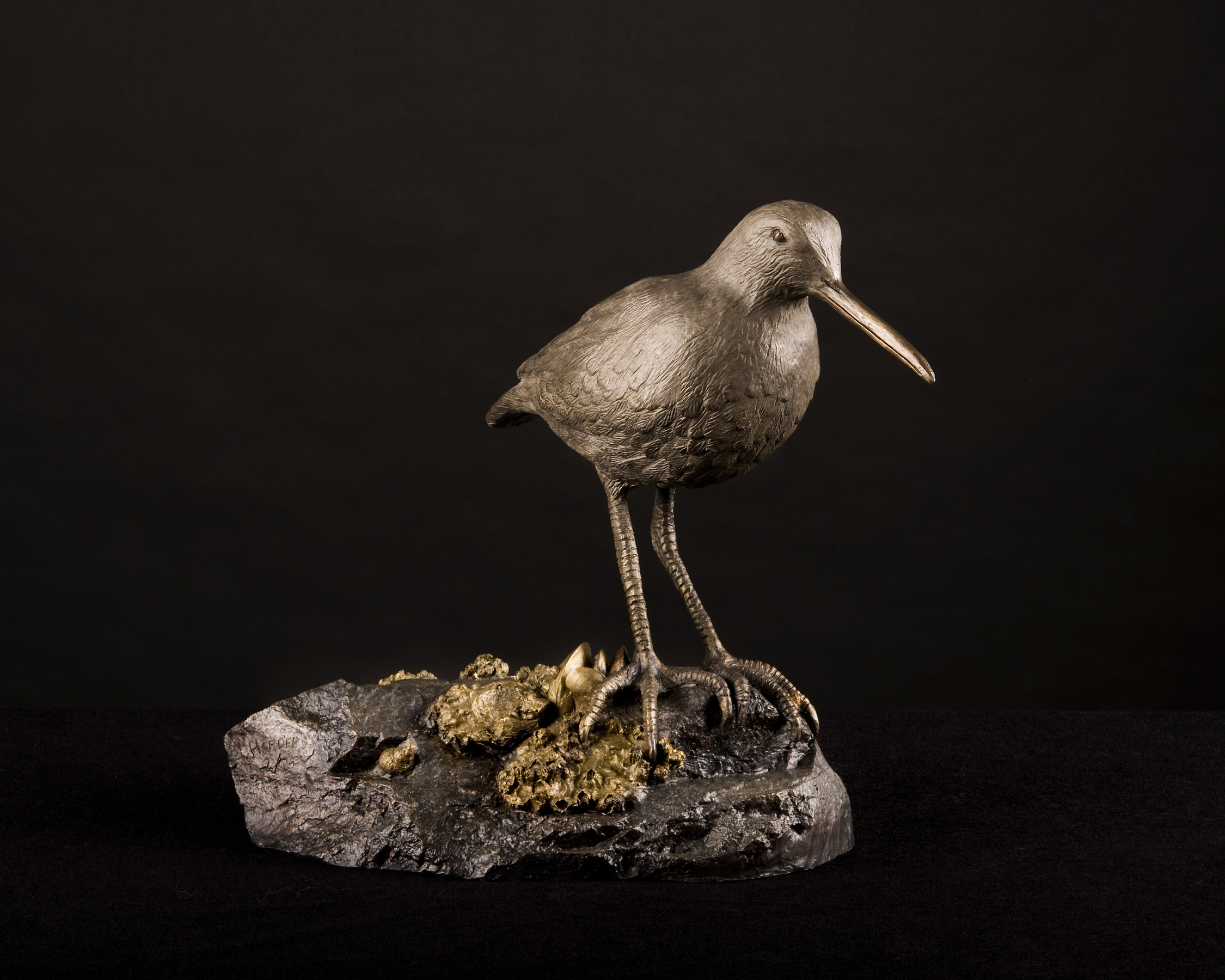 Greater Yellow Legs Sculpture