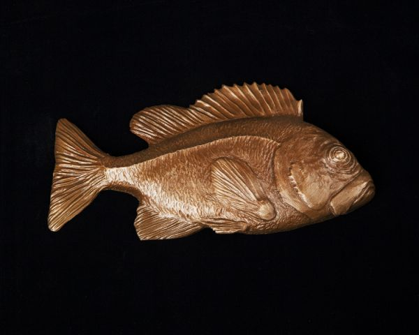 Rock Fish Sculpture