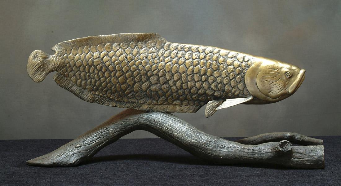 Arowana Sculpture