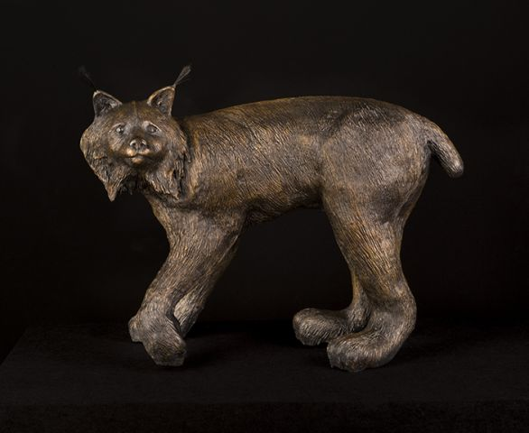 Canadian Lynx Sculpture