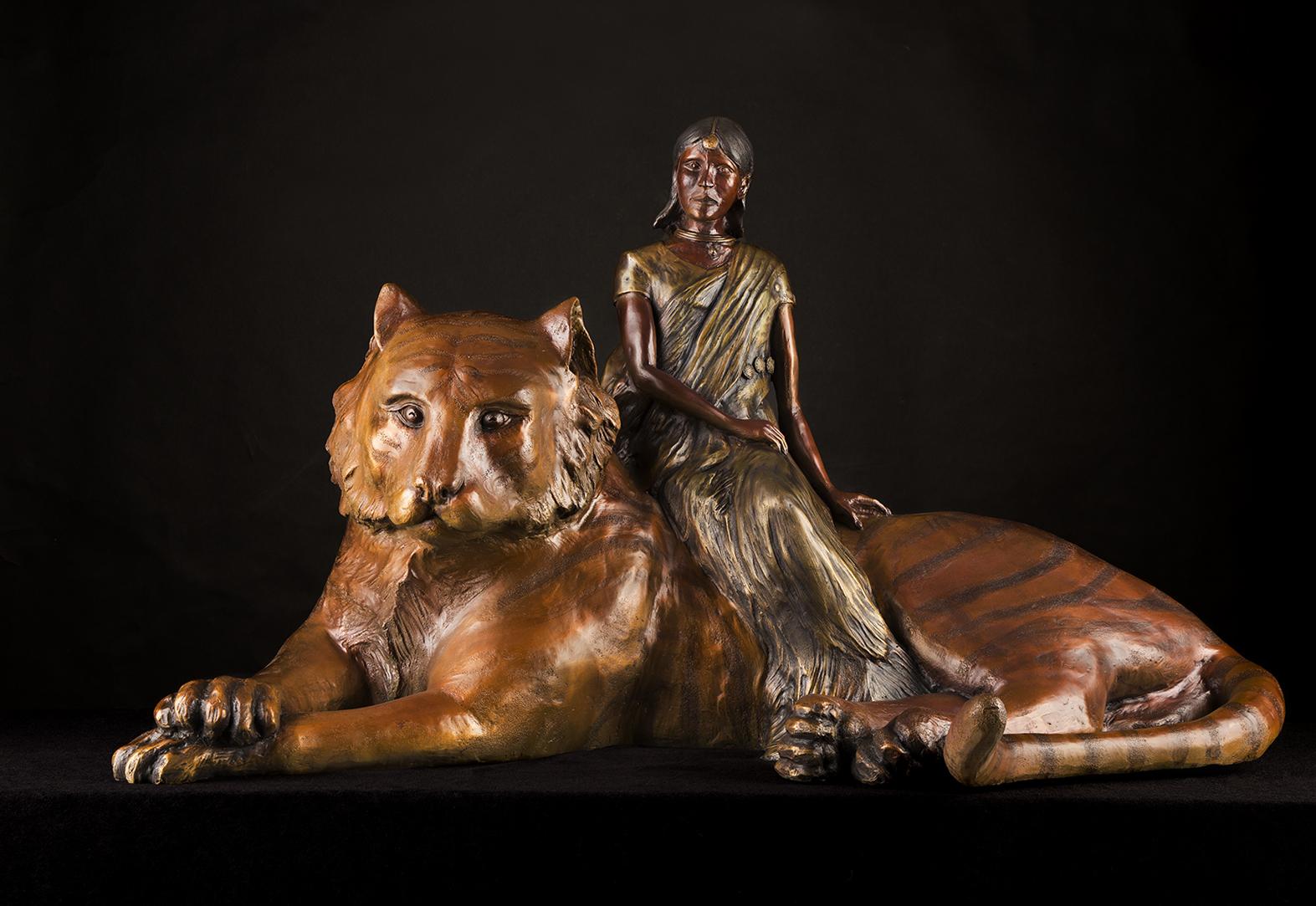 Priya's Shakti in Bronze