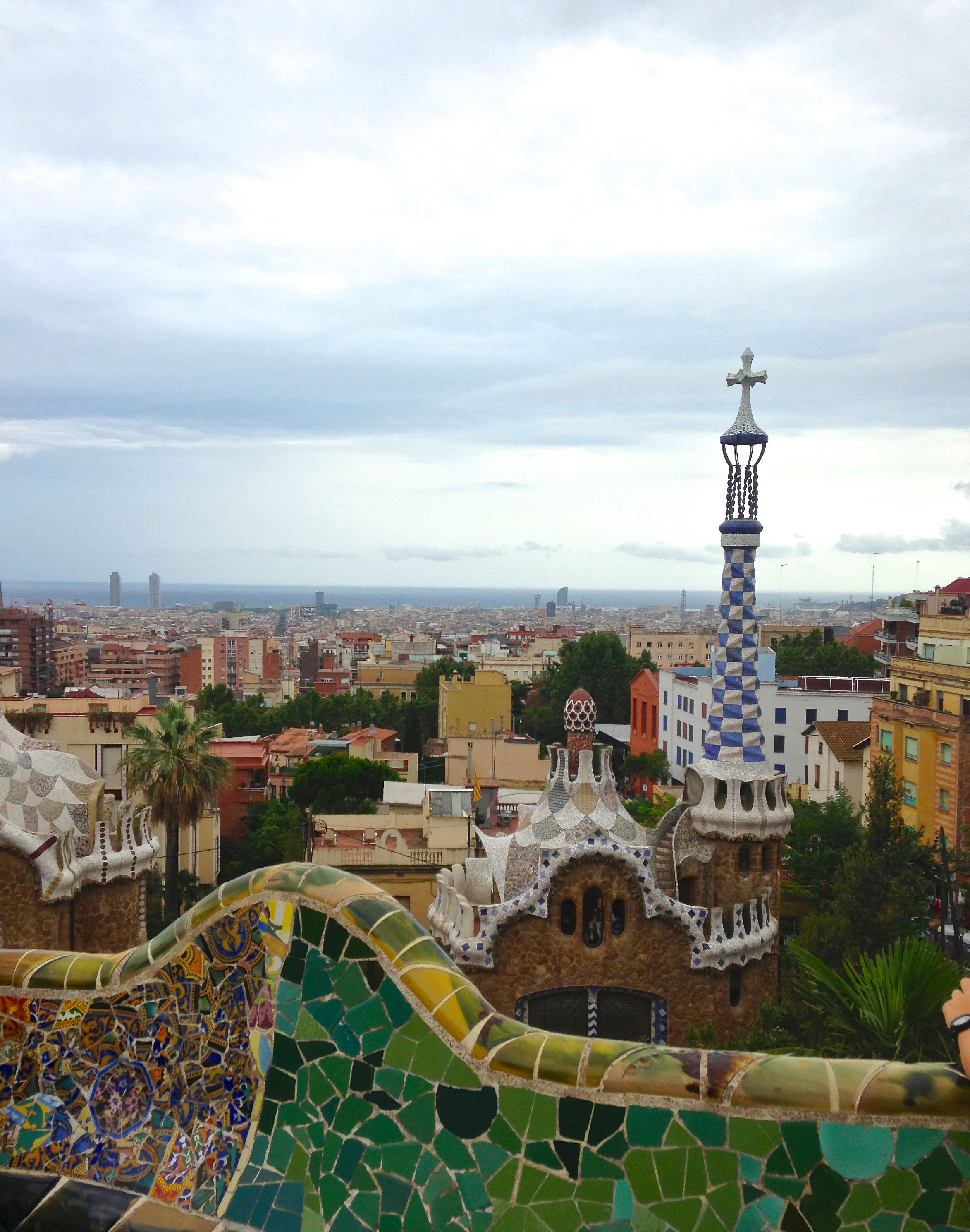 View of Barcelona from Parc Güell