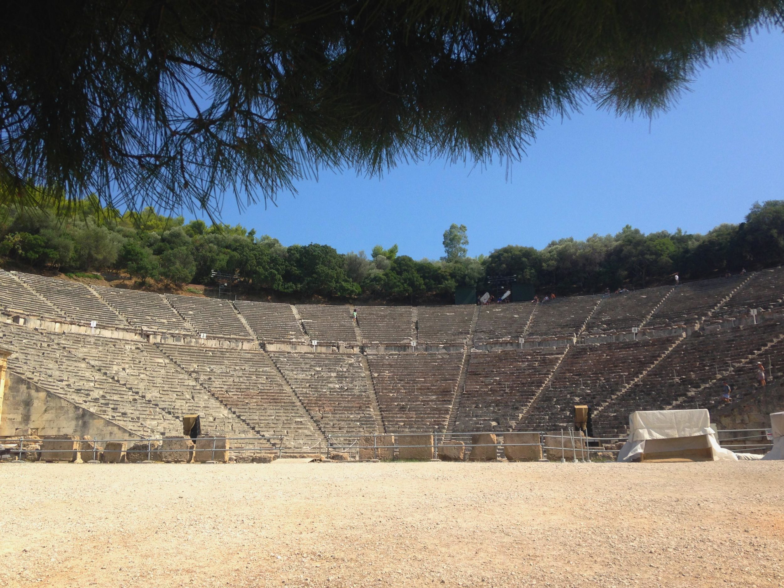 Ancient Epidavros theater
