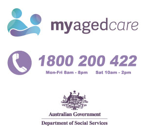 Visit  myagedcare  or phone them for more information.