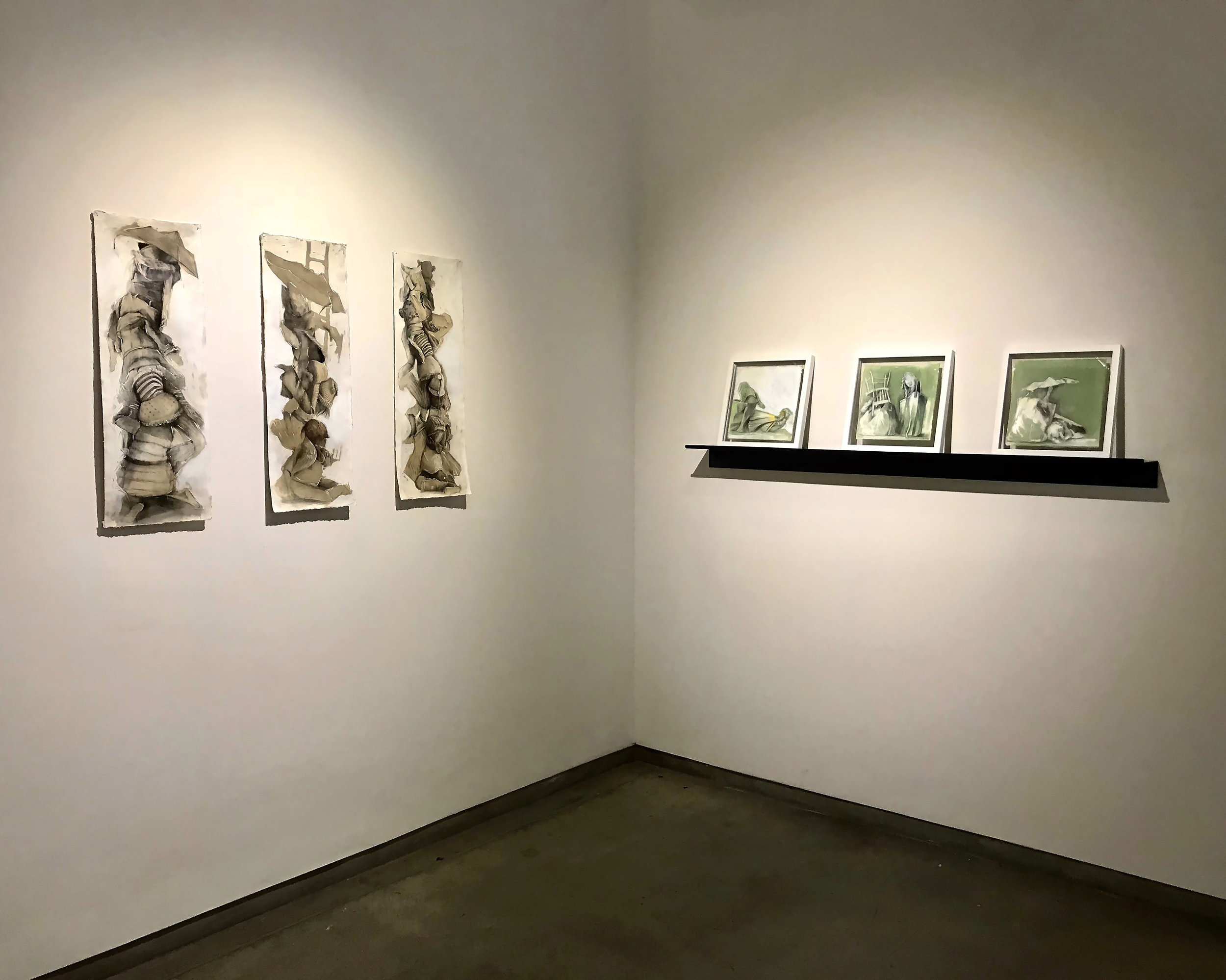 "Installation view"" ""Is There An Outside?""  Ricco/Maresca Gallery  New York  October 18/November 21 2018"