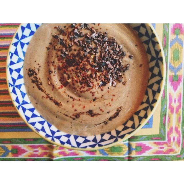 chocolate chilli smoothie