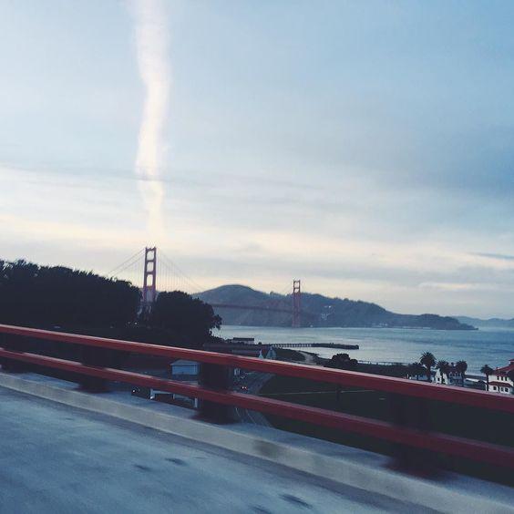 to see golden gate bridge