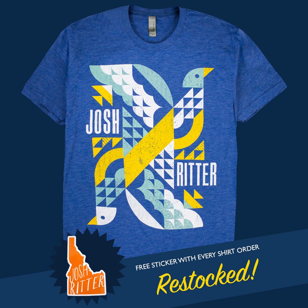 Josh Ritter Bird Tee Restock.