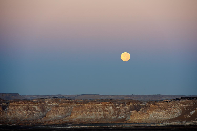 Moon Over the Desert