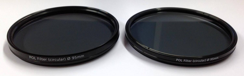 Links der alte, rechts der neue Filter. Aus dieser Perspektive fällt der Unterschied noch nicht sofort ins Auge.