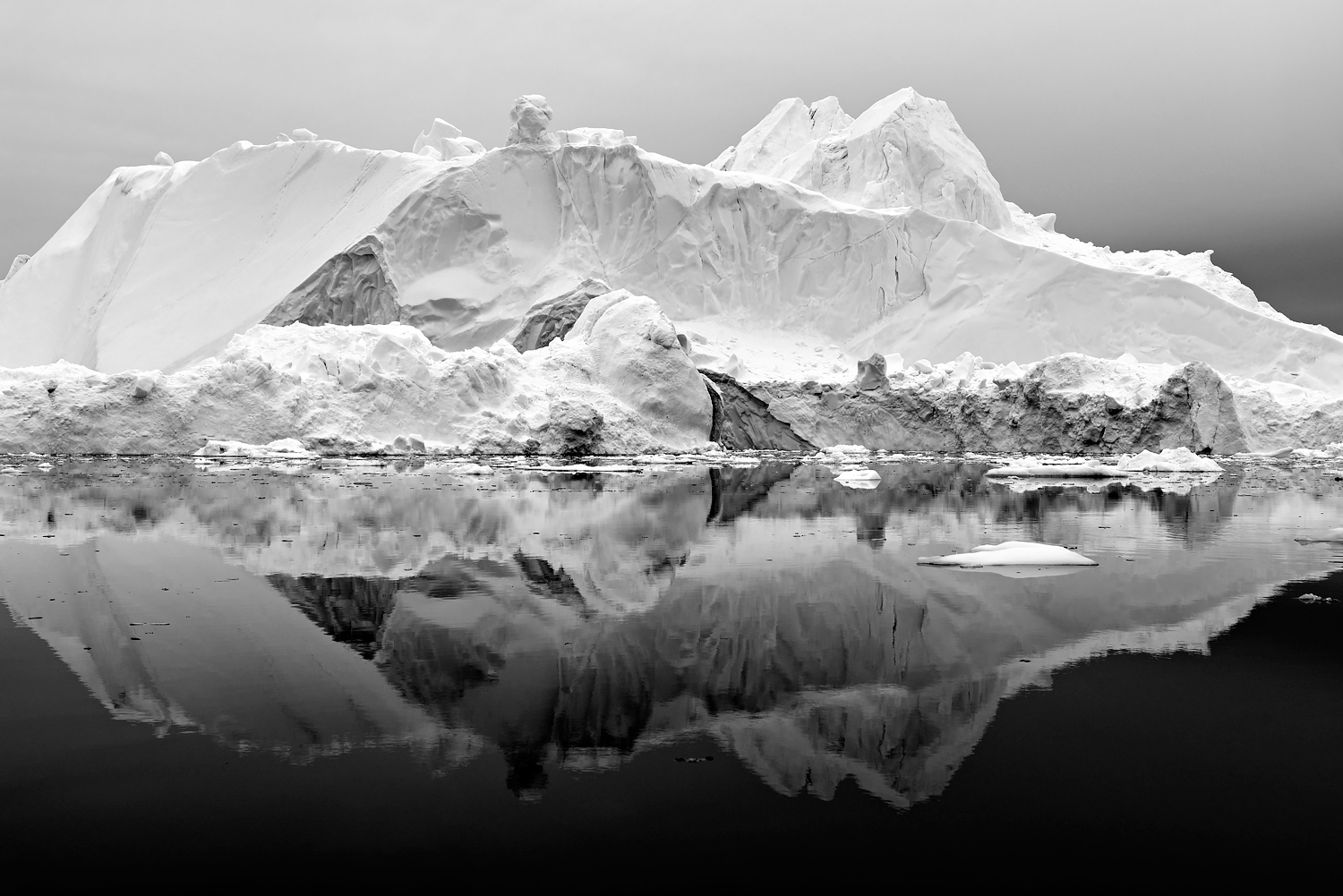 Greenland in Black & White -
