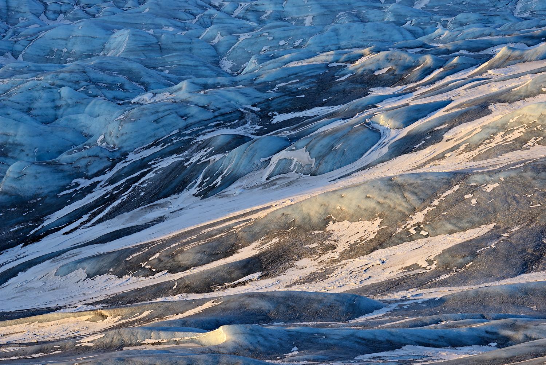 Sun On Dusty Ice