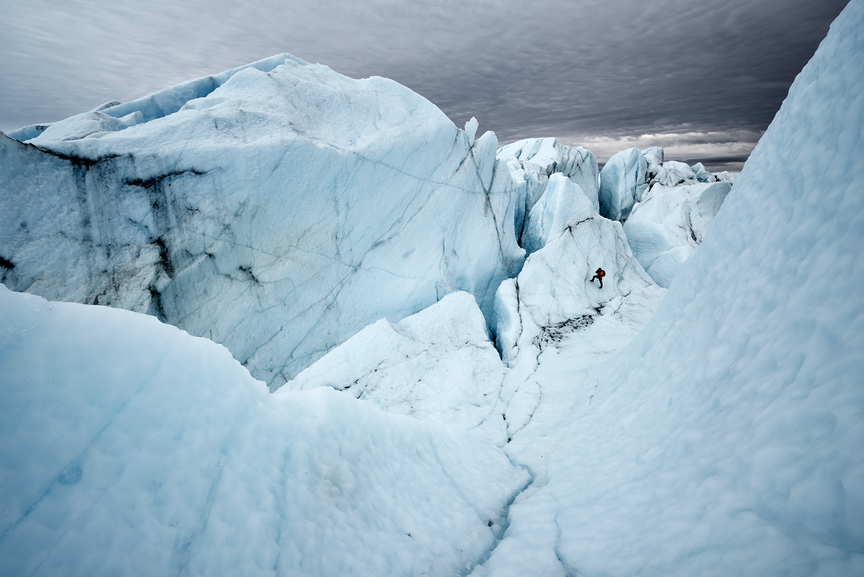 Adam On Planet Ice