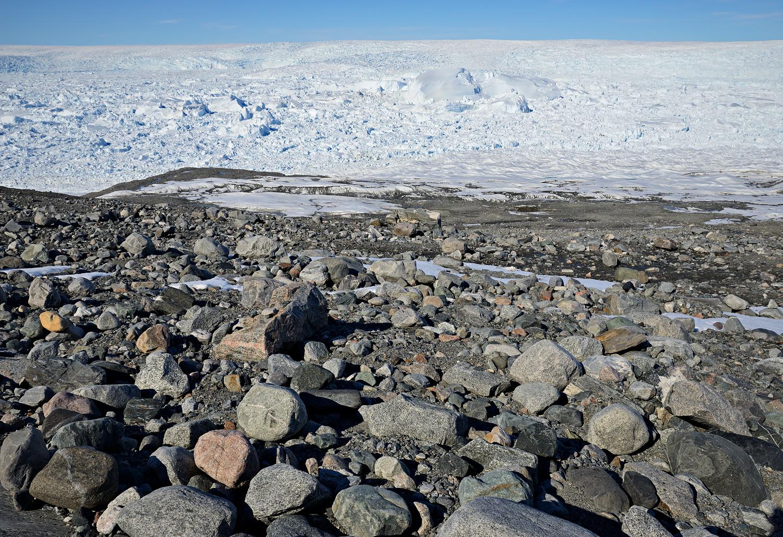 Am großen Gletscher