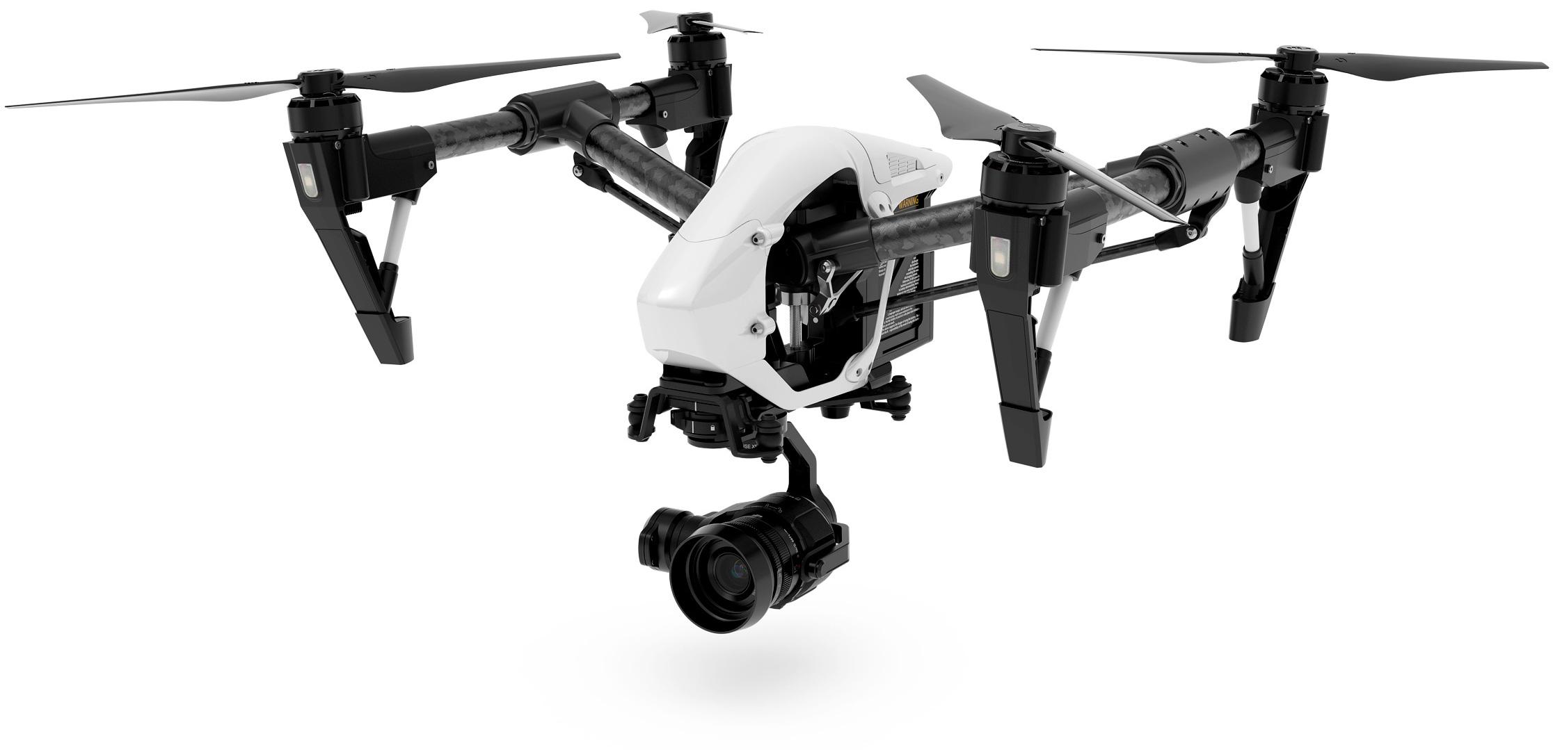 DJI Inspire 1 Pro mit Zenmuse X5 Kamera + Gimbal (Quelle: dji.com)