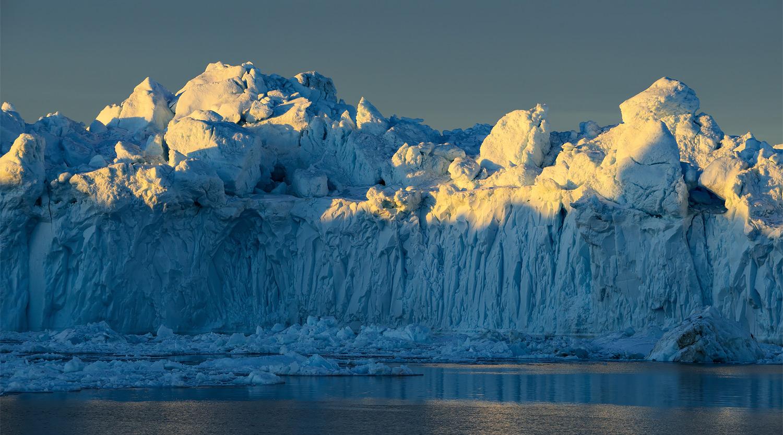 Big Ice & Low Sun
