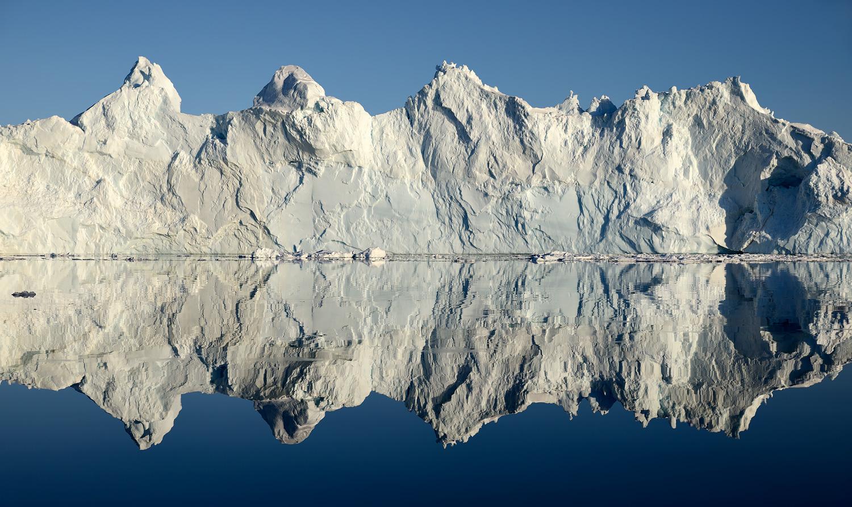Iceberg In Raging Sea