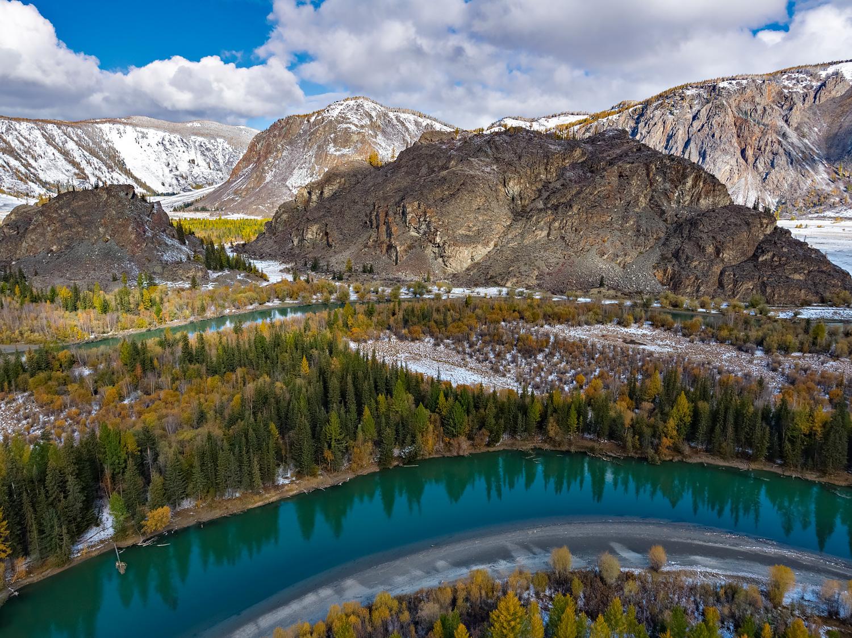 Altai Autumn Valley