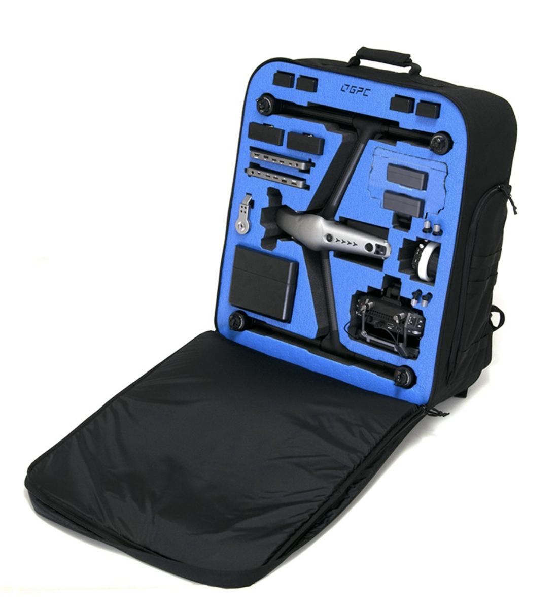 Der maßgeschneiderte Rucksack für den Inspire 2 © GPC