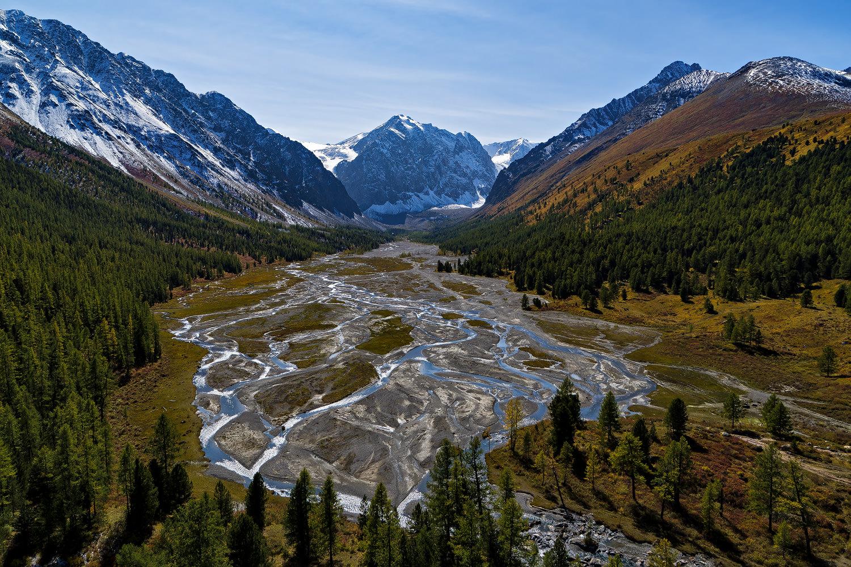 Aktru River Valley