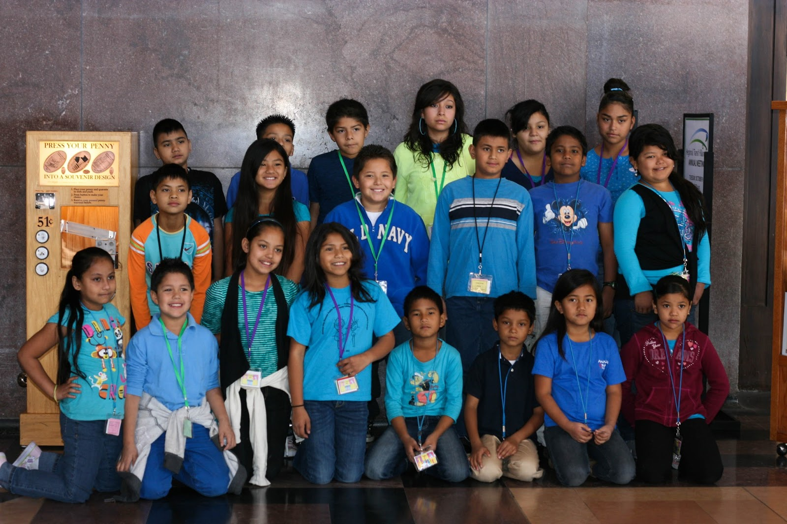 Bhutanese & Latino LIT students on a field trip to Union Station